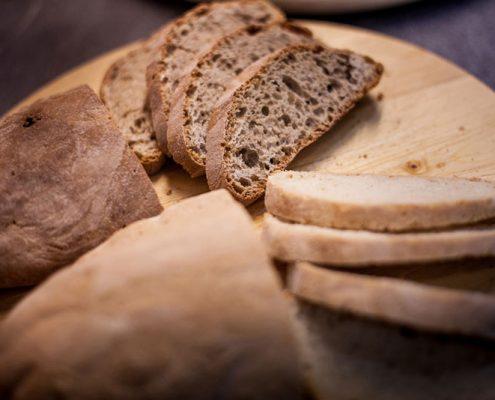 pane di chiaserna - fette di pane