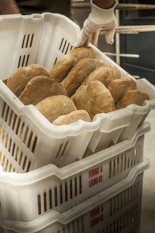 pane di chiaserna - pane in consegna