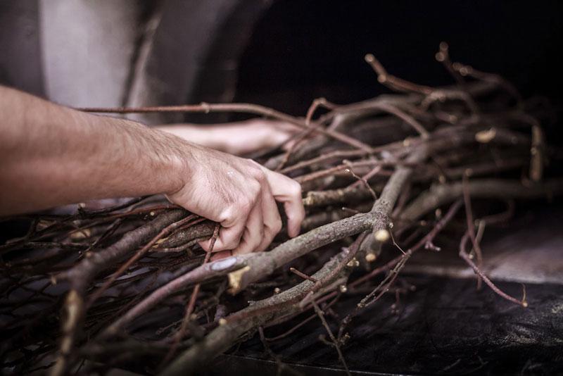 pane di chiaserna - fascine di legna