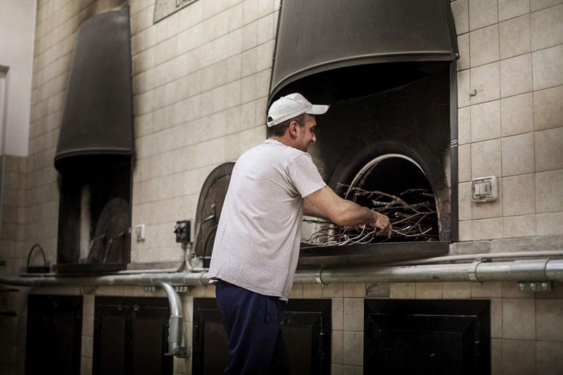 pane di chiaserna - forno a legna