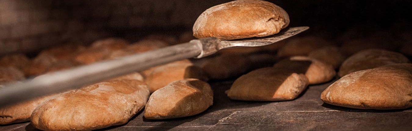 pane di chiaserna - dentro il forno